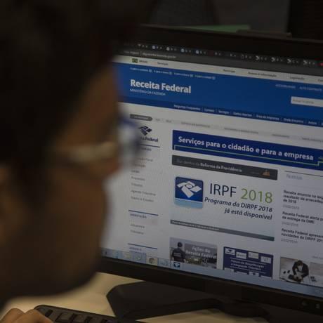 Imposto de Renda 2018 Foto: Alexandre Cassiano / Agência O Globo
