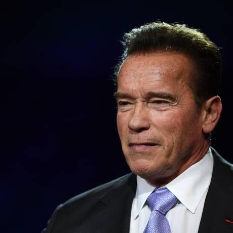 O ator e ex-fisiculturista Arnold Schwarzenegger Foto: ERIC FEFERBERG / AFP