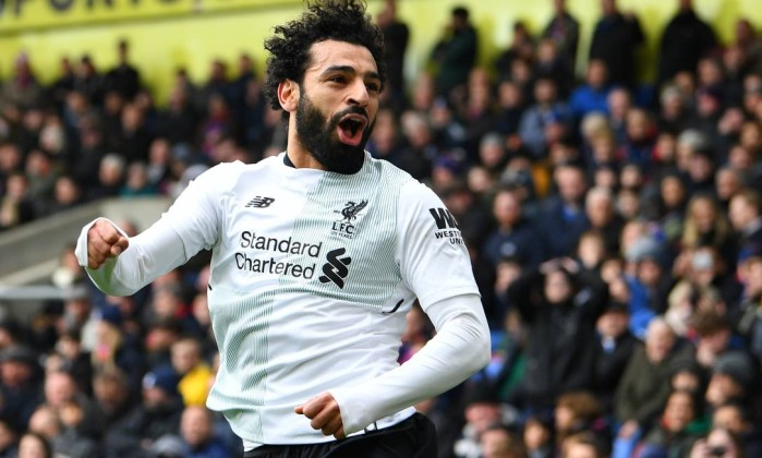 Liverpool vence Crystal Palace por 2 a 1