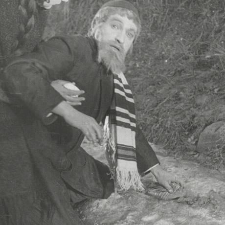 Cena de 'A cidade sem judeus', filme mudo de 1924 Foto: Arquivo Nacional de Filmes da Áustria