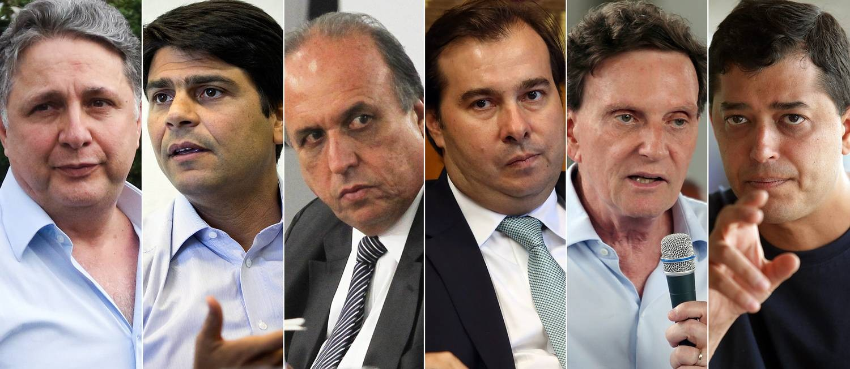 As estratégias de guerrilha dos políticos do Rio nas redes Foto: Editoria de Arte