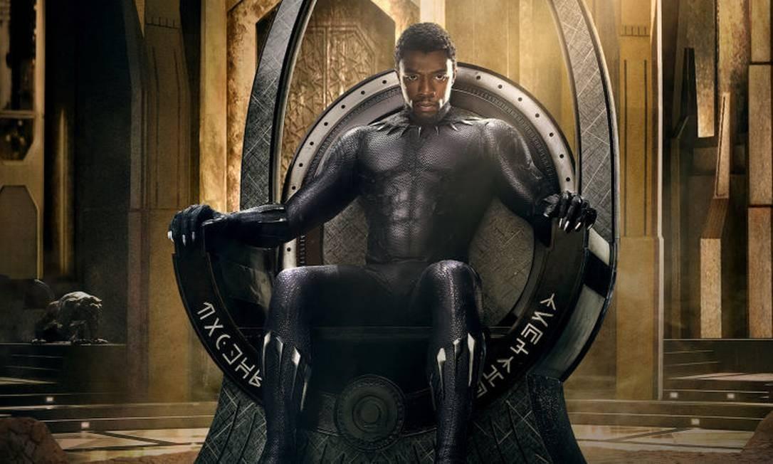 Cena do filme 'Pantera Negra': bilheteria deve chegar aos US$ 640 milhões, com US$ 400 milhões saindo dos bolsos de espectadores negros Foto: Divulgação