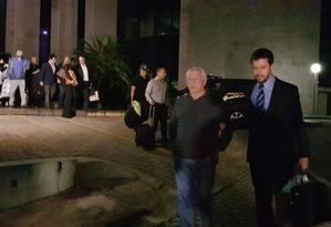 O advogado José Yunes foi o primeiro a ser liberado Foto: Gustavo Schmitt