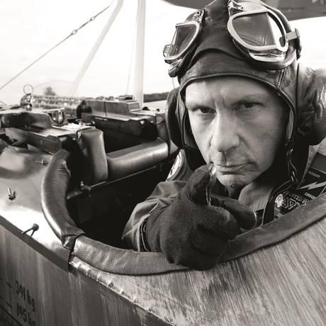 Imagem publicada no livro 'Bruce Dickinson, uma autobiografia' Foto: Divulgação