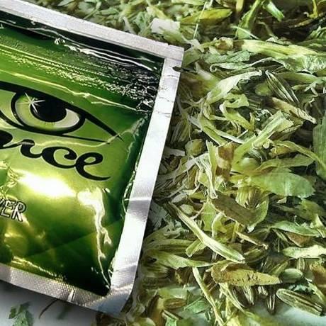 """Spice é uma das marcas da """"maconha sintética"""" no mercado americano Foto: Wikipedia / DEA/Rillke"""