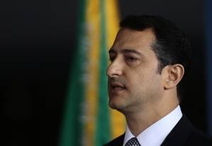 Rogério Galloro toma posse como diretor-geral da Polícia Federal Foto: Jorge William/Agência O Globo/02-03-2018