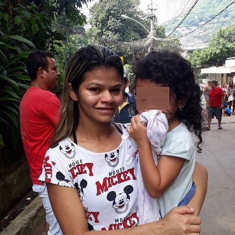 Mãe de menina que desapareu na Rocinha será indiciada por abandono de incapaz Foto: Reprodução