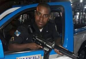 O soldado Lutercio Galiza de Souza tinha 32 anos Foto: Reprodução do Facebook