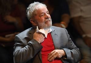 O ex-presidente Luiz Inácio Lula da Silva Foto: MAURO PIMENTEL / AFP
