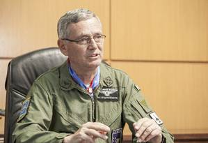 Tenente-brigadeiro do ar Nivaldo Luiz Rossato, comandante da Aeronáutica Foto: Johnson Barros / Divulgação/ FAB