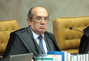 O ministro do STF Gilmar Mendes Foto: Divulgação