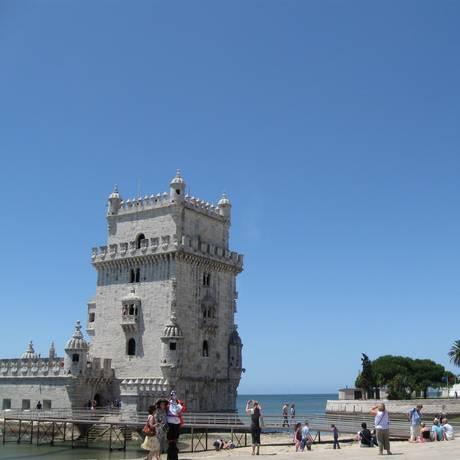 Torre de Belém, em Lisboa Foto: Gustavo Alves/Agência O Globo
