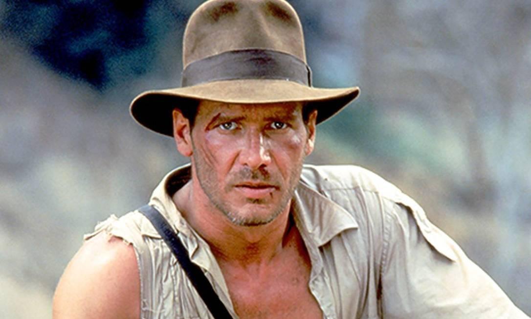 Harrison Ford como Indiana Jones Foto: Divulgação