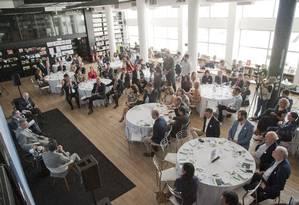 Em evento, Jungmann reclama da política de encarceramento, e Renato Sérgio de Lima diz que 27 das 30 facções existentes no país nasceram em presídios Foto: Agência O Globo