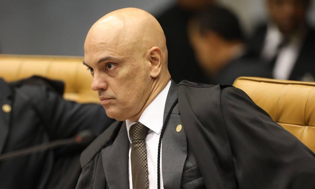 O ministro Alexandre de Moraes, do STF Foto: Victoria Silva / AFP