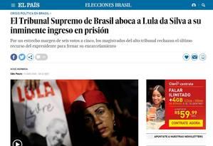 El País Foto: Reprodução