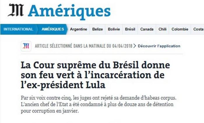 Lula tem HC negado pelo Supremo; prisão?