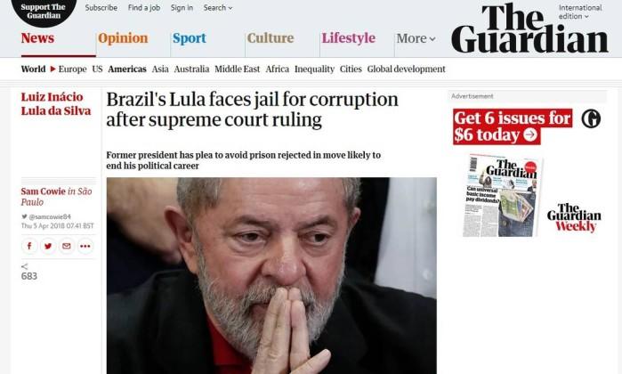 Moro da prazo para Lula se entregar e oferta cela especial