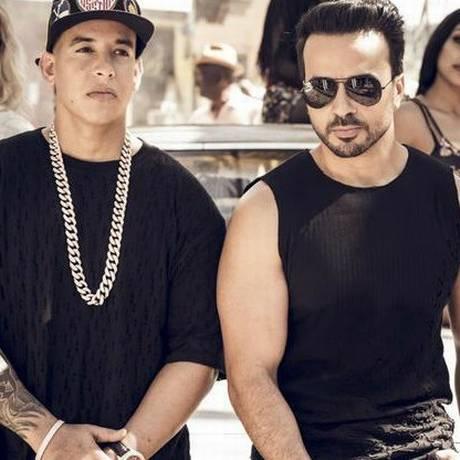 Daddy Yankee e Luis Fonsi em 'Despacito' Foto: Divulgação