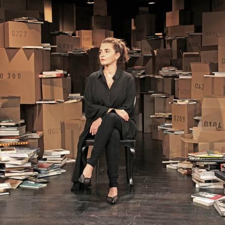 Gisele Fróes fala sobre a imortalidade em peça Foto: Ismael Monticelli / Divulgação/Ismael Monticelli
