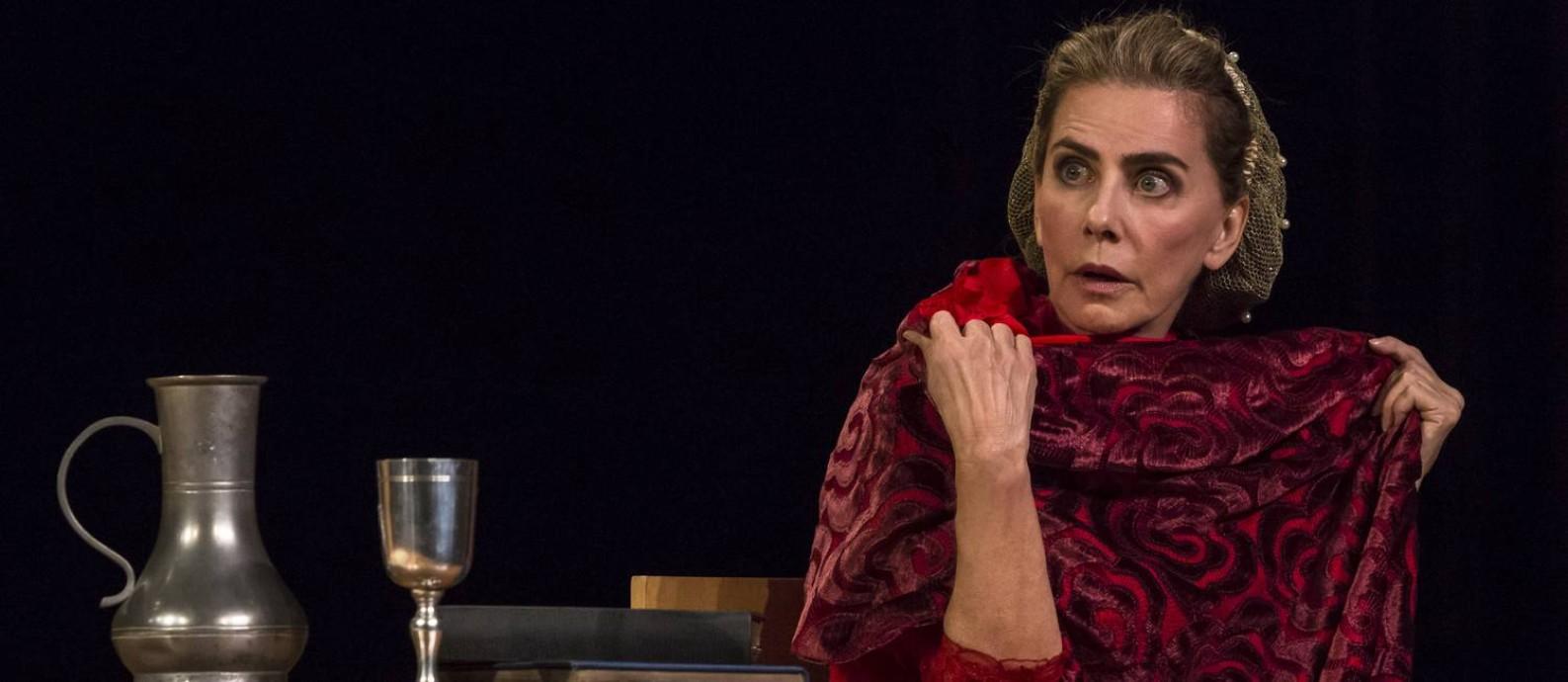 Maitê Proença é uma mulher à frente do seu tempo em peça Foto: Matheus Jose Maria / Divulgação/Matheus Jose Maria