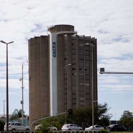 Edifício da Caixa Econômica Federal em Brasília Foto: Jorge William/Agência O Globo/18-01-2018