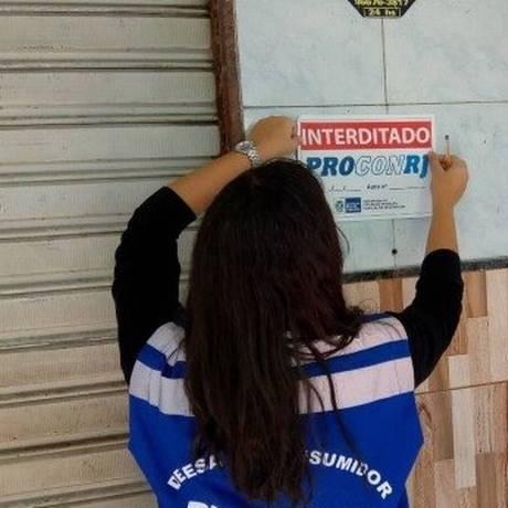 Padaria foi interditada nesta quinta Foto: Divulgação