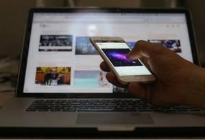 Bloqueio do acesso à rede móvel só deve acontecer apenas para quem não pagou a conta Foto: Arquivo