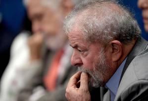 O ex-presidente Luiz Inácio Lula da Silva Foto: EVARISTO SA / AFP 29/10/2016