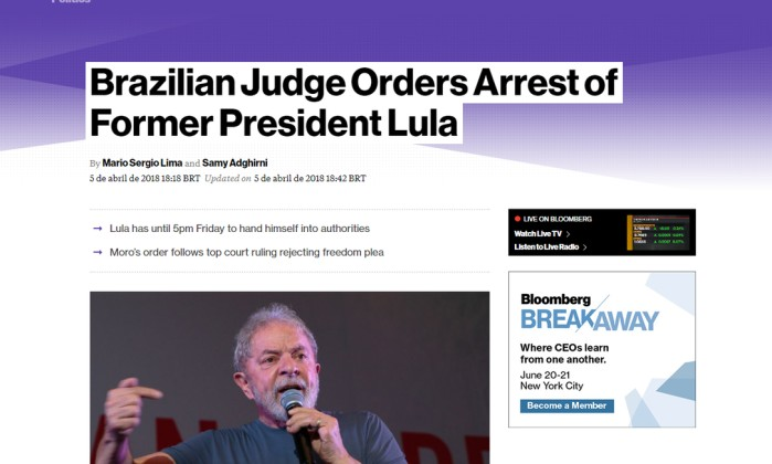Com prisão de Lula decretada, Humberto Costa fala em 'caçada'