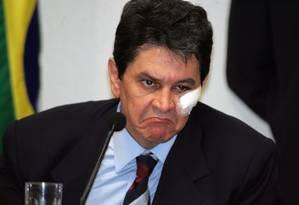 Roberto Jefferson durante depoimento na CPI dos Correios, em 2005 Foto: Roberto Stuckert Filho / Divulgação