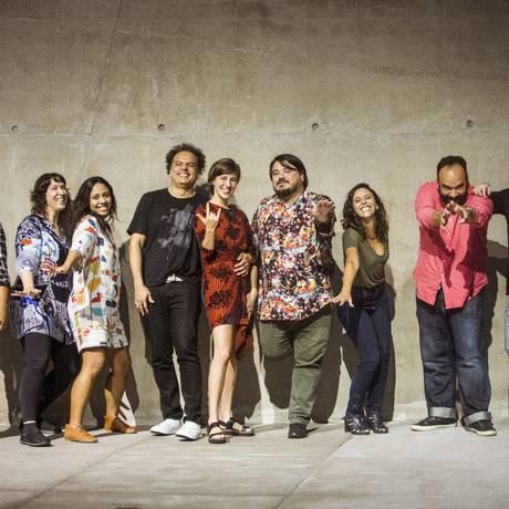 Produtores de festivais independentes do Brasil. Eles estarão juntos no Festivália, dentro da programação do Rio2C Foto: Bárbara Lopes / Agência O Globo