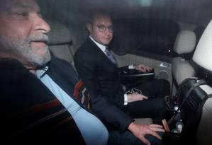 O ex-presidente Luiz Inácio Lula da Silva e o advogado Cristiano Zanin Foto: PAULO WHITAKER / REUTERS
