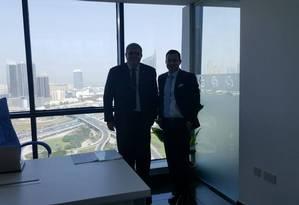 Marun e Shaun Morgan, CEO de banco em Dubai condenado por fraude Foto: Reprodução/ Facebook