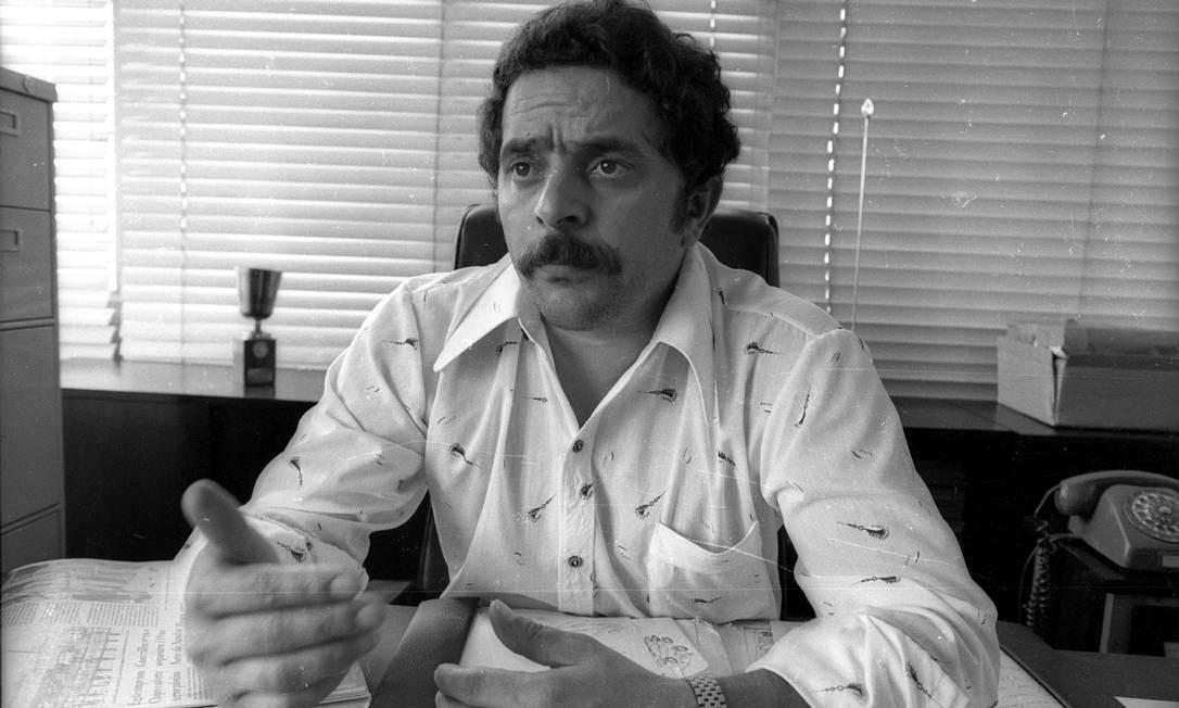 Lula pediu revisão da indenização em 2003 Foto: Antonio Carlos Piccino 23/02/1978 / Agência O Globo