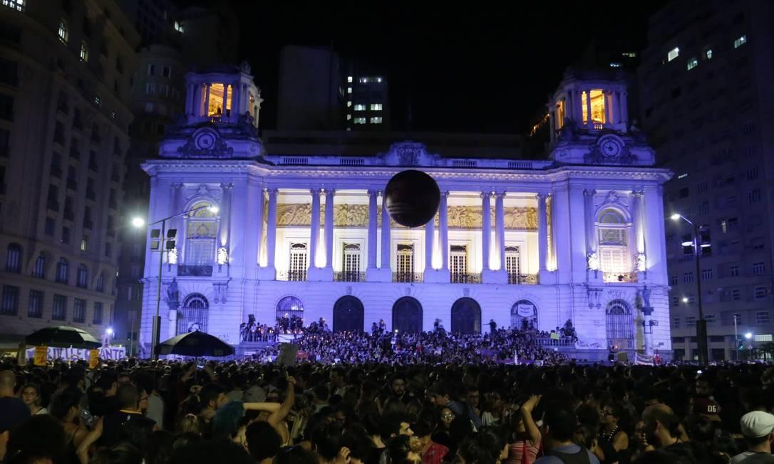 Câmara Municipal do Rio sob investigação no caso Marielle Foto: Marcio Alves