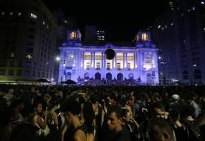 Câmara Municipal do Rio sob investigação no caso Marielle Foto: Márcio Alves / Agência O Globo