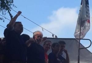 Lula participa de missa no Sindicado dos Metalúrgicos do ABC Foto: Reproção
