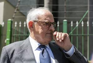 Nelson Jobim fez críticas à imprensa Foto: Edilson Dantas / Agência O Globo