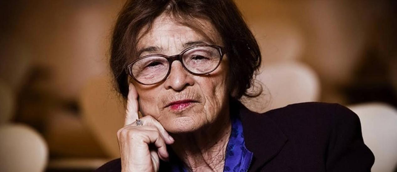 A filósofa húngara Agnes Heller Foto: Divulgação