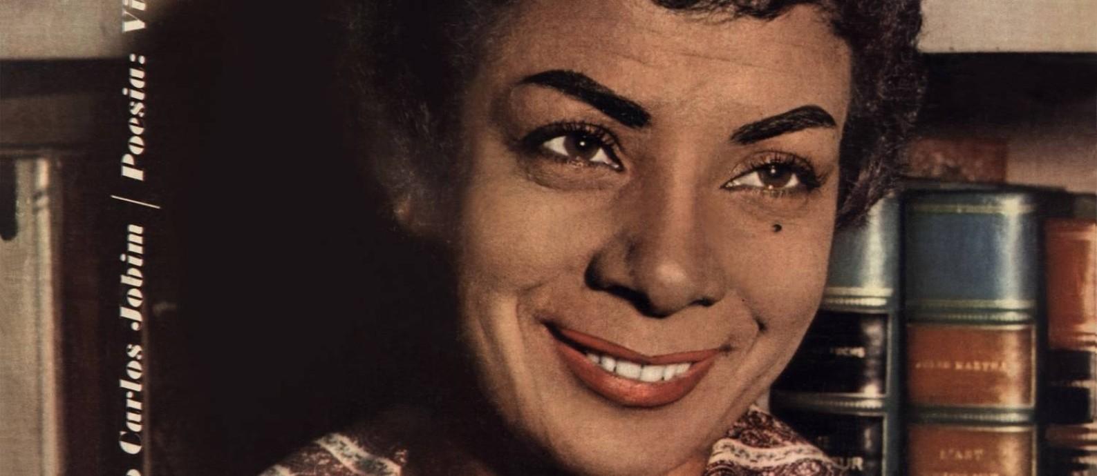 Elizeth Cardoso na capa do disco 'Canção do amor demais' (1958) Foto: Reprodução