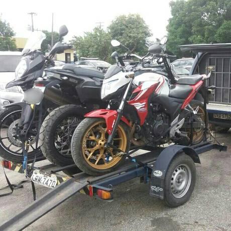 A ação tinha como objetivo coibir o roubo de motocicletas de luxo Foto: divulgação/PRF