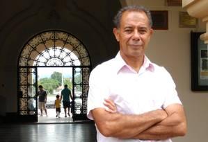 Sociólogo José Cláudio Souza Alves, autor do livro