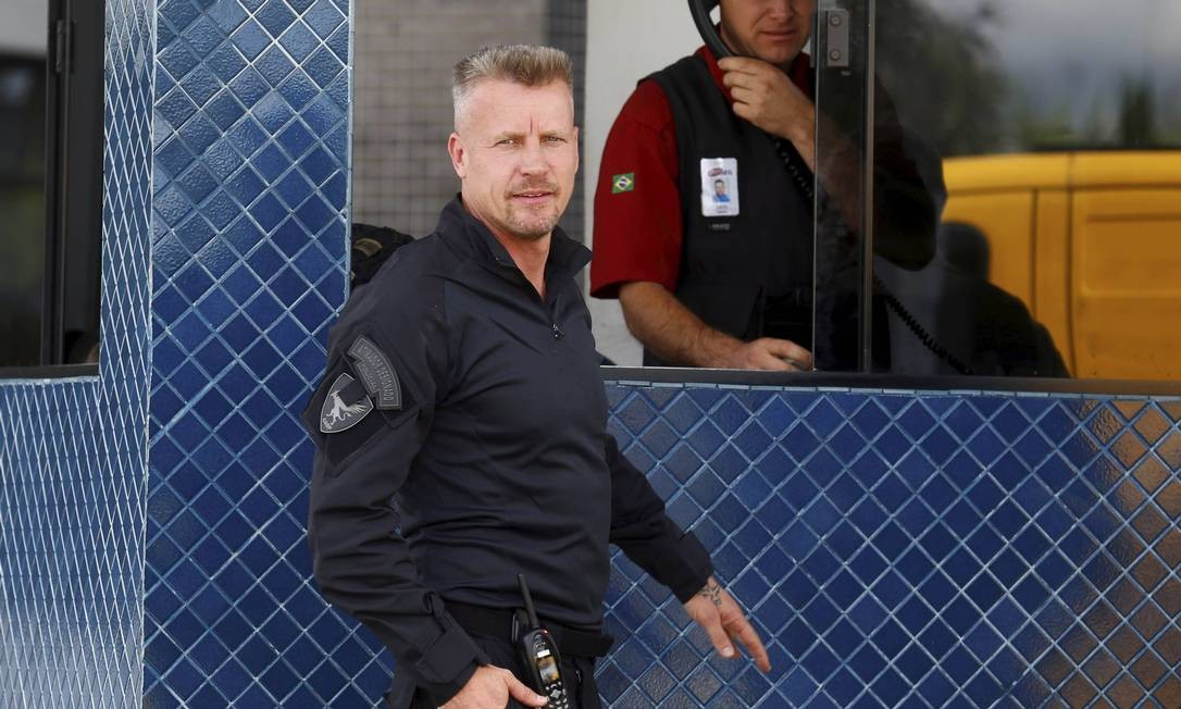 Policial Jorge Chastalo Filho, o 'Hilbert da PF' Foto: Agência O Globo