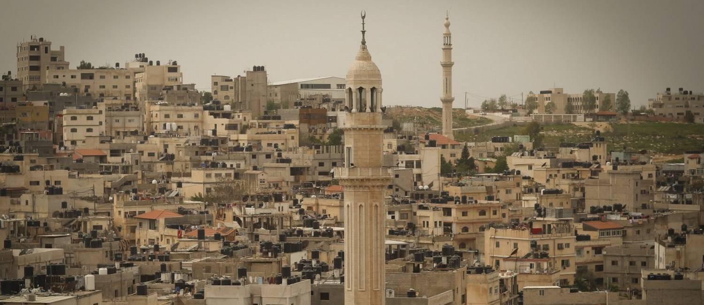 Cidade de Ramallah, na Cisjordânia, onde está a sede da Autoridade Palestina Foto: Pablo Jacob / Agência O Globo