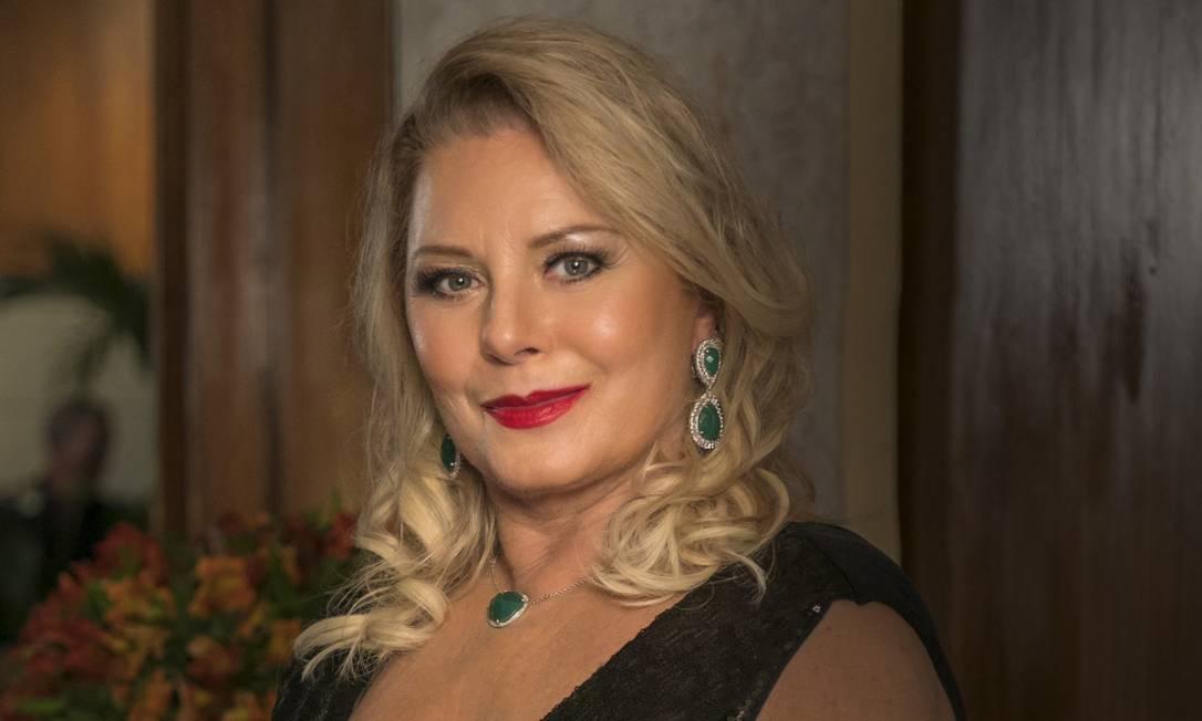 Ana Tanquerey (Vera Fischer) Foto: Sergio Zalis / Divulgação/TV Globo