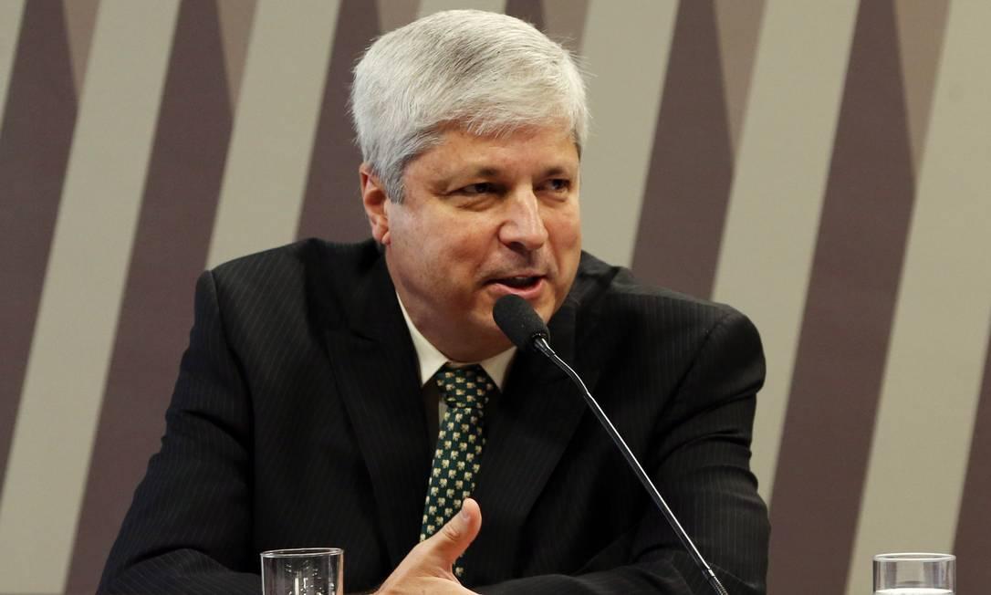 Márcio Félix participa de reunião na Comissão de Infraestrutura do Senado Foto: Givaldo Barbosa/Agência O Globo/22-02-2018