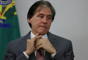 O presidente do Senado, Eunício Oliveira Foto: UESLEI MARCELINO / REUTERS
