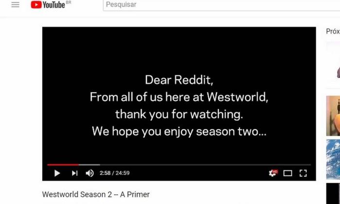 Westworld: Promessa de spoilers foi brincadeira dos criadores. Confira vídeo!