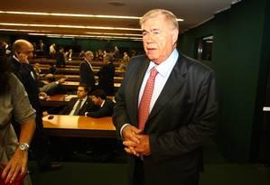 Newton Cardoso, na Câmara dos Deputados, em 2010 Foto: Aílton de Freitas / Agência O Globo